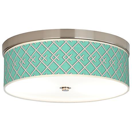 Crossings Giclee Energy Efficient Ceiling Light