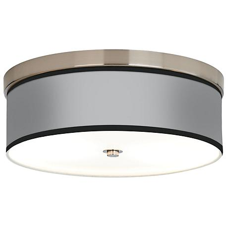 All Silver Giclee Energy Efficient Ceiling Light