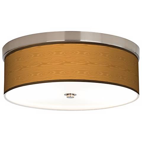 Wood Grain Giclee Energy Efficient Ceiling Light