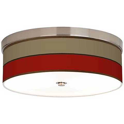 Empire Red Giclee Energy Efficient Ceiling Light