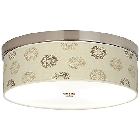 Sand Medallion Giclee Energy Efficient Ceiling Light