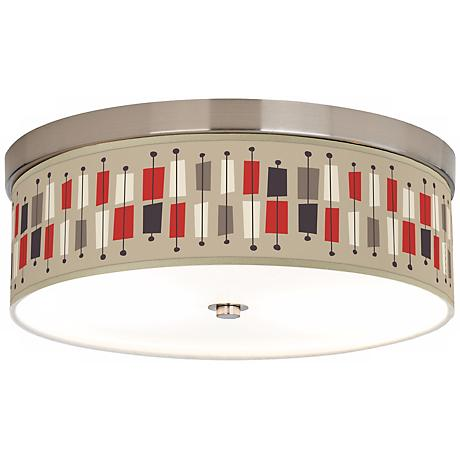 """Bounce 14"""" Wide Giclee Energy Efficient Ceiling Light"""
