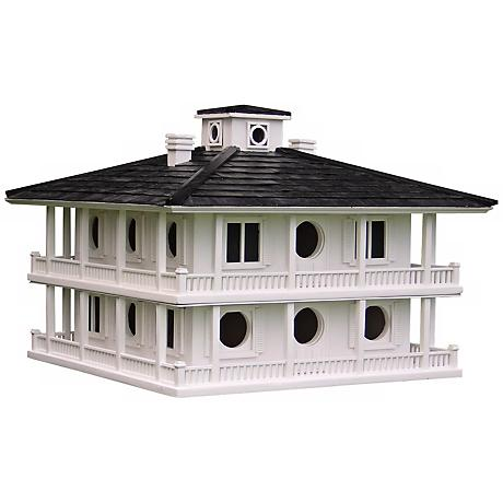 """Large Southern Club House 21"""" Wide Bird House"""