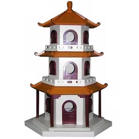 Three-Tiered Pagoda Bird House