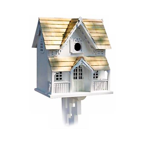 Victorian Cottage with Mounting Bracket Bird House