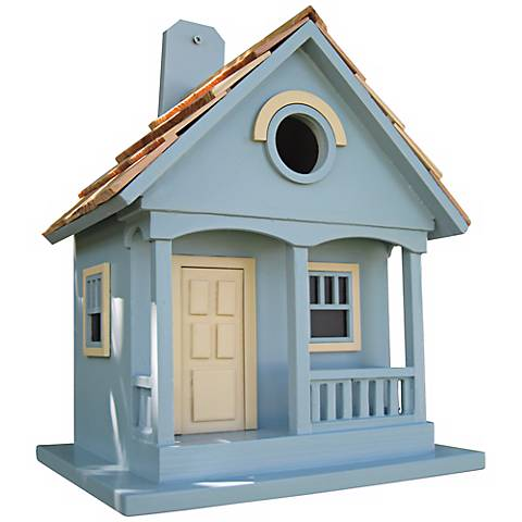 Pacific Grove Light Blue Birdhouse
