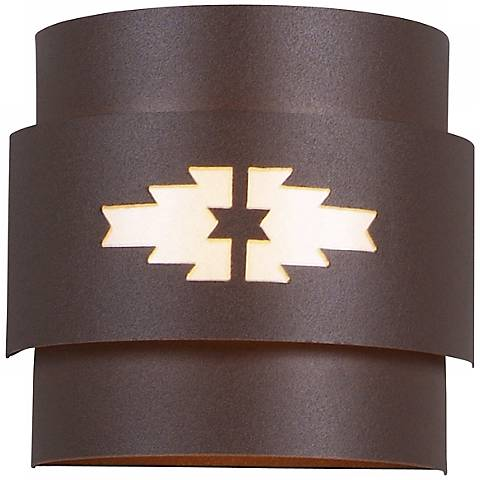 "Northridge Collection 8"" High Outdoor Wall Light"