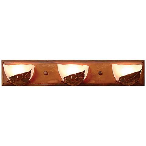 """Logen Collection Aspen 24"""" Wide Bathroom Light Fixture"""