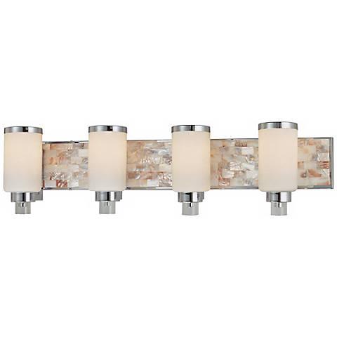 "Cashelmara Collection 34"" Wide Bathroom Light with Shells"