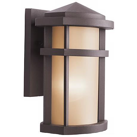 Kichler Architectural Bronze 10 High Outdoor Wall Light J1884 Lamp