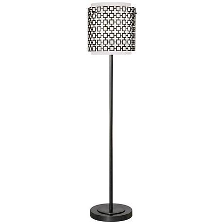 Robert Abbey Parker Bronze Finish Floor Lamp