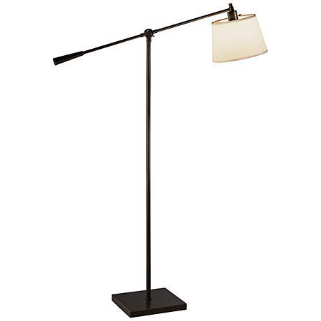 Robert Abbey Real Simple Bronze Boom Floor Lamp