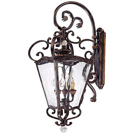 """Metropolitan Collection 31 3/4"""" High Outdoor Wall Lantern"""
