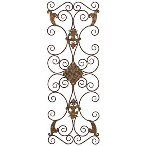 Metal Wall Art Lamps Plus : Uttermost Fayola Hand-Forged Metal 50