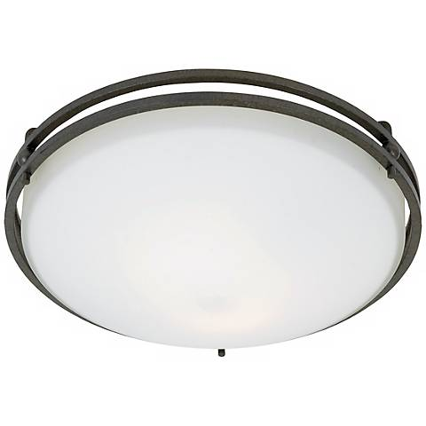 "Ozark Collection 12 1/2"" Wide Ceiling Light Fixture"