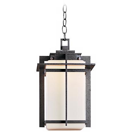 "Hubbardton Forge Tourou 16 3/4"" High Outdoor Hanging Light"