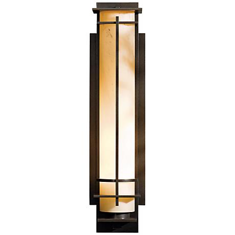 """Hubbardton Forge After Hours 27"""" High Outdoor Wall Light"""