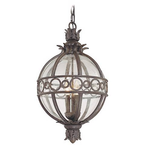 """Campanile Collection 27 1/2"""" High Outdoor Hanging Light"""