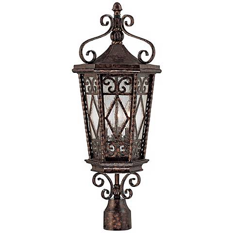"""Felicity Collection 25 1/2"""" High Outdoor Post Light"""