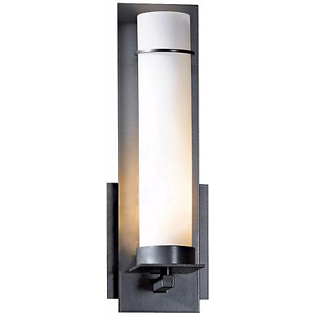 """New Town Collection Opal Glass 12 1/2"""" High Wall Sconce"""