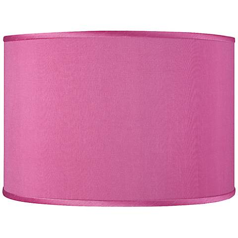Pink Orchid Faux Silk Shade 12x12x8.5 (Spider)