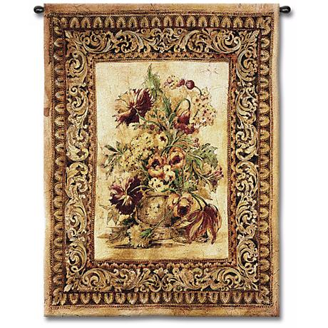 """Fiore 53"""" High Wall Tapestry"""
