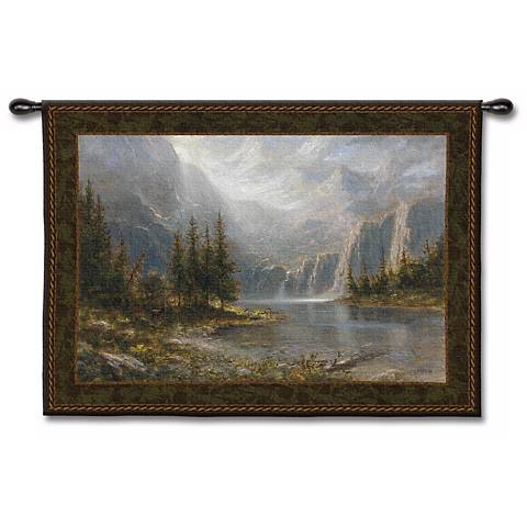 "Palatial Escape 53"" Wide Wall Tapestry"