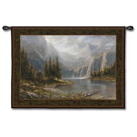 """Palatial Escape 53"""" Wide Wall Tapestry"""