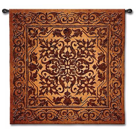 """Ironwork 53"""" Square Wall Tapestry"""