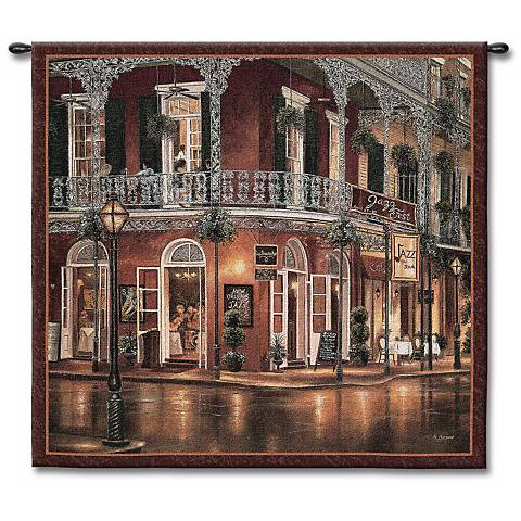 "All That Jazz 53"" Square Wall Tapestry"