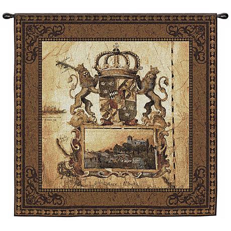 "Terra Nova I Hanging 53"" Square Wall Tapestry"