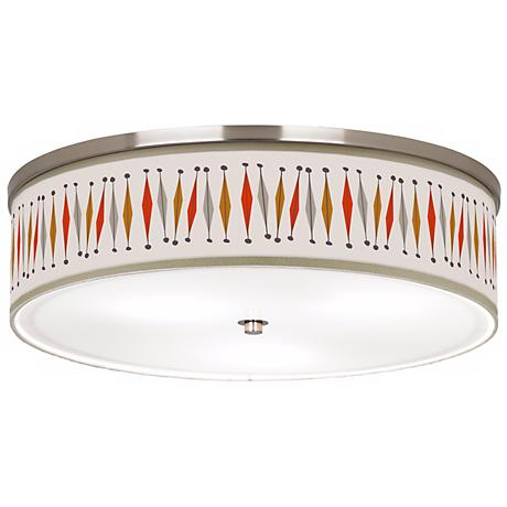 """Tremble Giclee 20 1/4"""" Wide Ceiling Light"""
