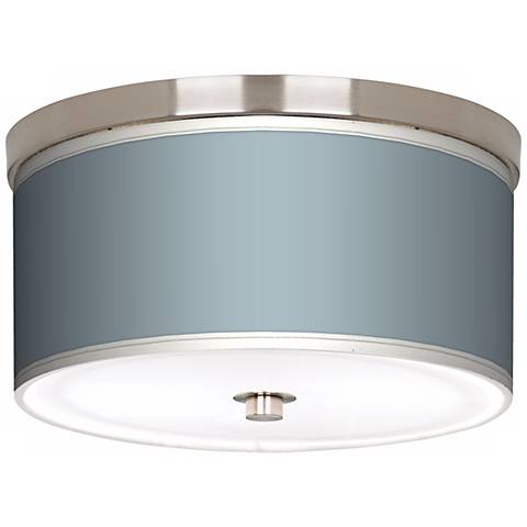 "Aqua-Sphere Nickel 10 1/4"" Wide Ceiling Light"