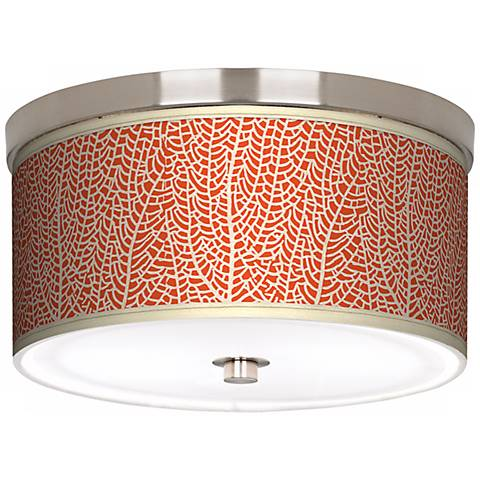 """Stacy Garcia Seafan Coral 10 1/4"""" Wide Ceiling Light"""
