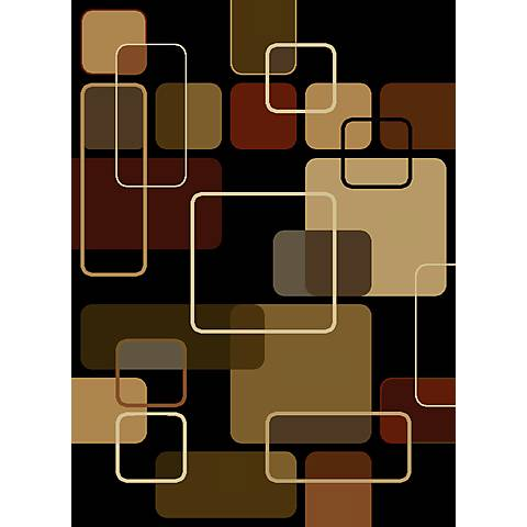 Thelonius Black Area Rug