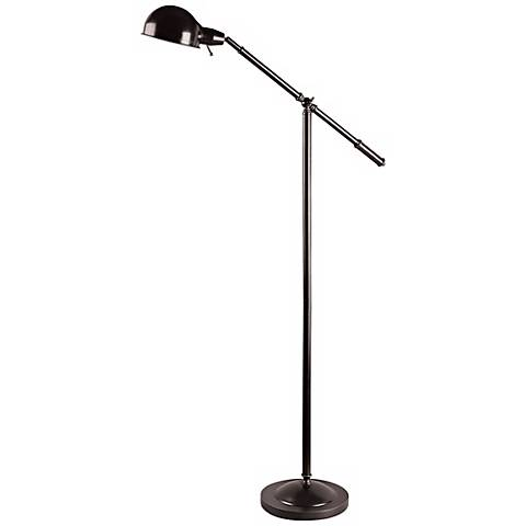 Lite Source Bronze Jensen Balance Arm Pharmacy Floor Lamp