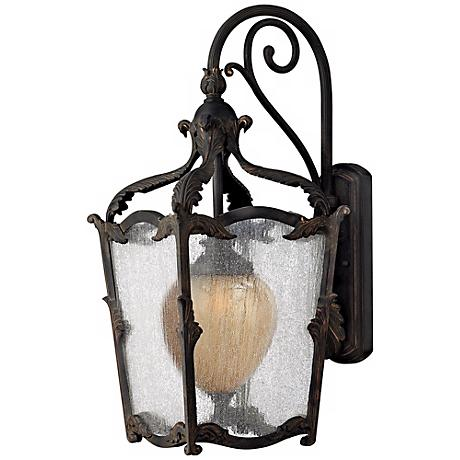 """Hinkley Sorrento Collection 26 3/4"""" High Outdoor Wall Light"""