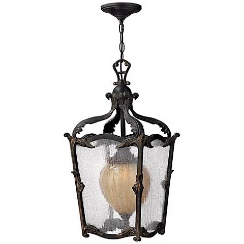 "Hinkley Sorrento Collection 24"" High Outdoor Hanging Light"