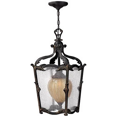 """Hinkley Sorrento Collection 24"""" High Outdoor Hanging Light"""
