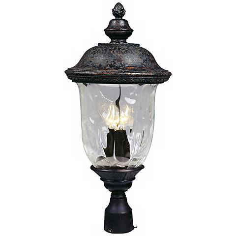 "Carriage House Collection 26 1/2"" High Outdoor Post Light"