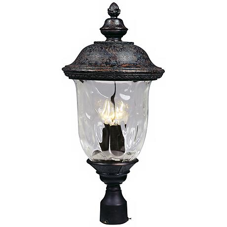 """Carriage House Collection 26 1/2"""" High Outdoor Post Light"""