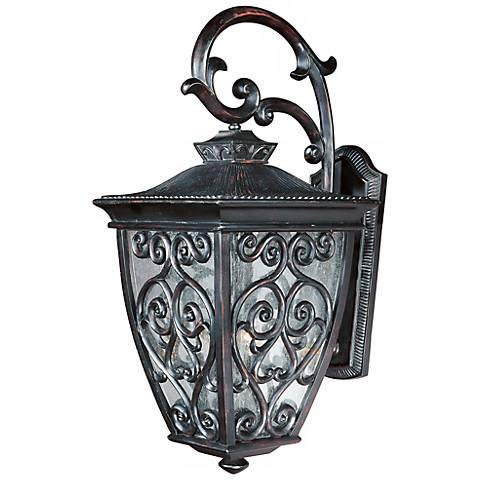 """Newbury 23"""" High Outdoor Wall Light in Oriental Bronze"""