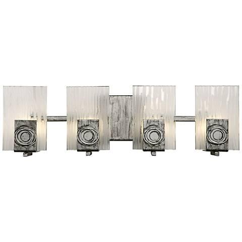 "Varaluz Polar Collection 22"" Wide ADA Compliant Bath Light"