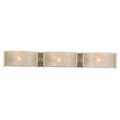 "Cirrus Collection 28 1/2"" Wide Bathroom Light Fixture"