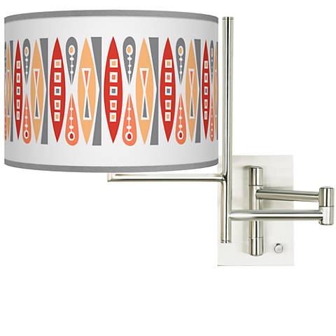 Tempo Vernaculis VI Plug-in Swing Arm Wall Lamp