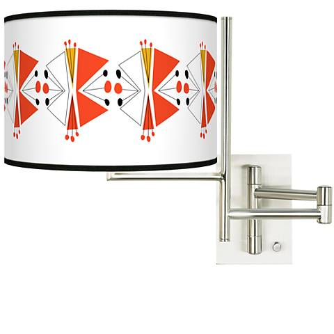 Tempo Lexiconic III Plug-in Swing Arm Wall Lamp