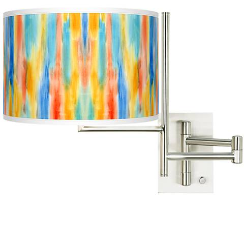 Tempo Tricolor Wash Plug-in Swing Arm Wall Lamp