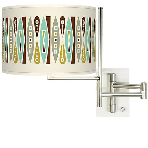 Tempo Vernaculis II Plug-in Swing Arm Wall Light