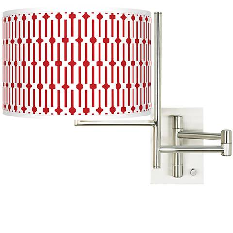 Tempo Amaze Plug-in Swing Arm Wall Light