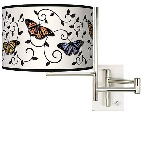 Tempo Butterfly Scroll Plug-in Swing Arm